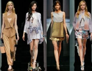 Неделя моды в Милане: показ Emporio Armani