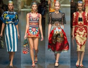 Неделя моды в Милане: показ Dolce&Gabbana