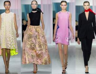 Неделя моды в Париже: показ Christian Dior