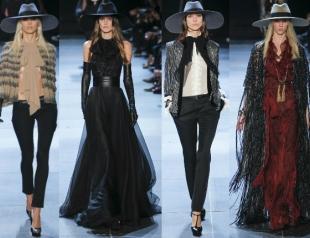Неделя моды в Париже: показ Saint Laurent