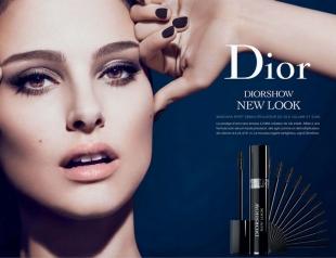 Запрещена реклама туши Dior с участием Натали Портман