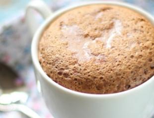 Шоколадное суфле в чашке