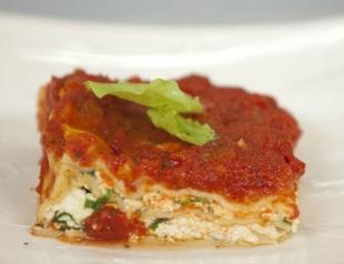 Рецепт приготовления рикотты и лазаньи с рикоттой