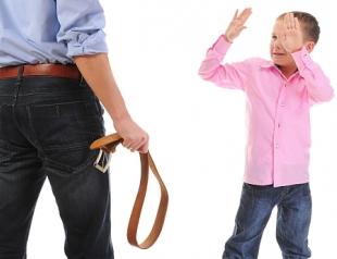 Наказания провоцируют заболевания у детей