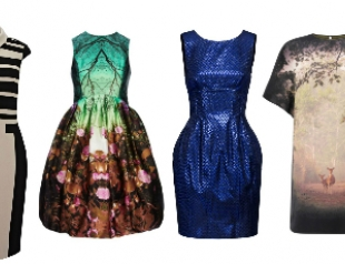 Новогодние платья 2013. Часть 1