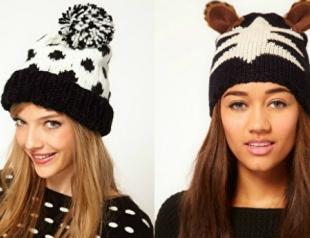 Модные шапки зимы 2012-2013