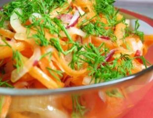 Низкокалорийный салат от Эктора Хименеса Браво