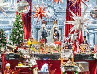 Самые красивые рождественские витрины. Фото