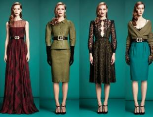 Коллекция Gucci pre-fall 2013