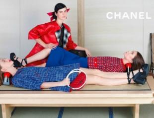 Рекламная кампания Chanel весна-лето 2013