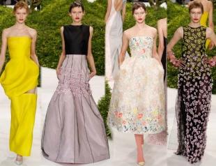 Неделя высокой моды в Париже: Christian Dior s/s 2013