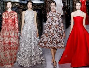 Неделя высокой моды в Париже: показ Valentino s/s 2013