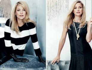 Кейт Хадсон создаст капсульную коллекцию одежды