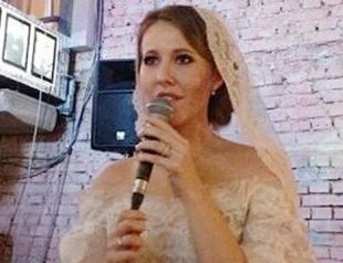 Свадьба Ксении Собчак: новые подробности и новые фото