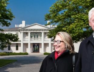 Билл и Хиллари Клинтон показали свой роскошный дом. Фото