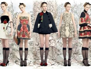 Коллекция RED Valentino осень-зима 2013-2014