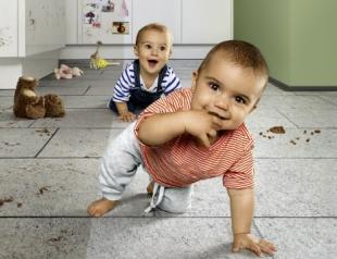 Правила уборки, когда в доме есть маленький ребенок