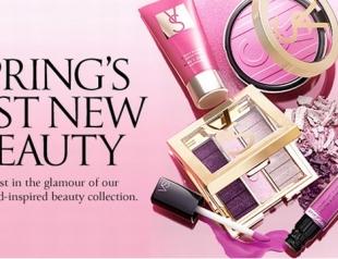 Весенняя коллекция макияжа 2013 от Victoria's Secret. Фото