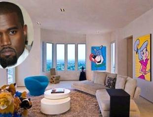 Канье Уэст продает свой особняк. Фото