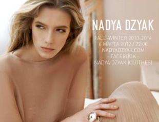 UFW: показ Nadya DZYAK осень-зима 2013-2014