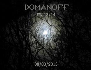 UFW: показ DOMANOFF осень-зима 2013-2014
