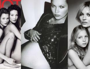 Кейт Мосс: лучшие фото за 25 лет карьеры