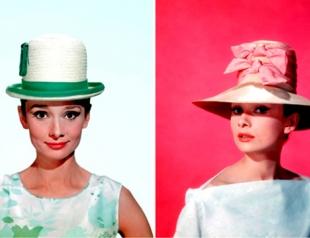Издается фотоальбом Одри Хепберн и ее шляпок