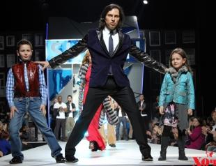 Неделя моды в Москве: Александр Ревва стал моделью у SHIYAN