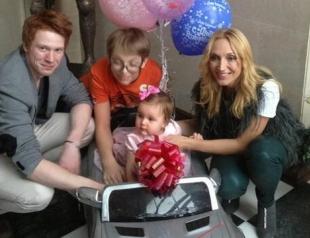 Как отпраздновала первый День рождения дочь Орбакайте? Фото