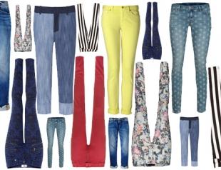 Модные джинсы: весна-лето 2013