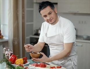 Вегетерианское блюдо от Эктора: раджма