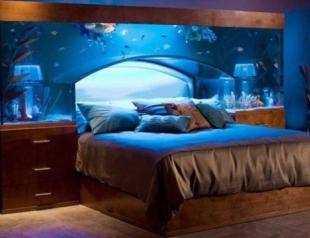 Обставляем спальню: необычные кровати. Фото