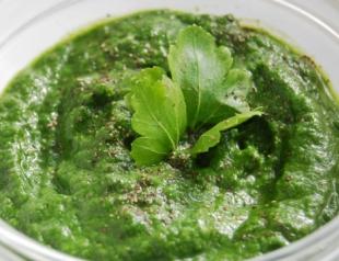 Любимое блюдо Бекхэма: суп со шпинатом и рукколой