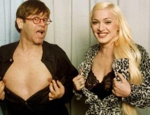 Элтон Джон извинился перед Мадонной