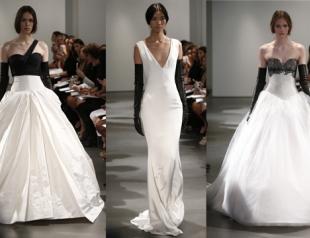 Свадебные платья Vera Wang весна-лето 2014