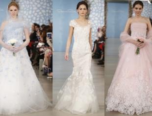 Свадебные платья Oscar de la Renta весна-лето 2014