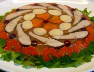 Рецепты пасхального стола: топ 3 рецепта заливных блюд