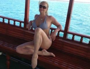 Волочкова с бойфрендом Салимовым отдыхает в Таиланде