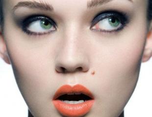 Как использовать оранжевую помаду в макияже?