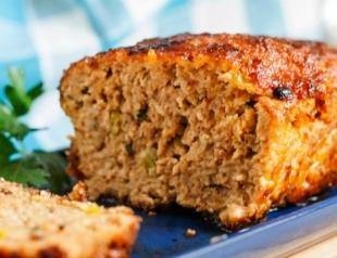 Как приготовить домашний мясной хлеб? Видеорецепт