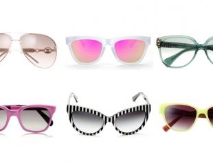 Выбираем модные очки лета 2013