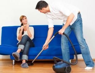 Как заставить мужчину помогать по дому?