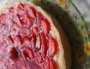 Рецепт клубничного тарта