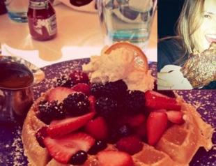 Звездный Instagram: кто, что ест?