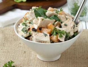 Салаты из курицы: топ 5 рецептов приготовления