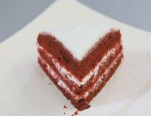 """Торт """"Красный вельвет"""". Видео-рецепт"""