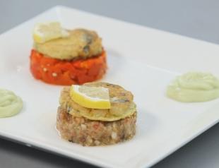 """Ужин """"Вся Одесса"""": биточки из тюльки с баклажанной икрой"""