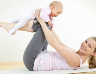 Как похудеть после беременности и родов