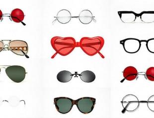 Знаменитые очки известных личностей