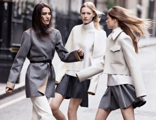 Бренд Zara представил осенне-зимнюю коллекцию